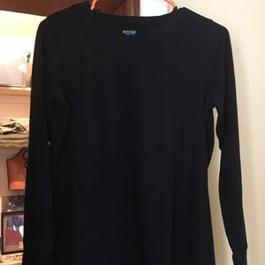 Mossimo long sleeve black shirt
